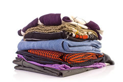 Pile Of Clothes Royalty Free Stock Photography