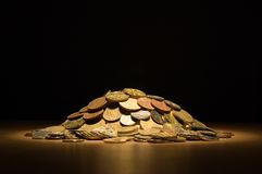 Free Pile Of Coins Royalty Free Stock Photo - 8838665