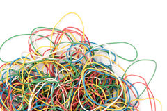 Free Pile Of Colorful Rubber Elastics Stock Photo - 14467650