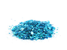 Pile Of Colorful Sequins Isolated Stock Image