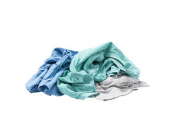 Free Pile Of Dirty Laundry Isolated On White. Stock Photo - 68675750