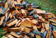 Free Pile Of Firewood Stock Image - 3380301