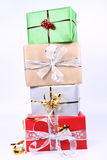 Pile Of Gifts Royalty Free Stock Images