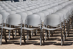 Free Pile Of Gray Chairs Royalty Free Stock Images - 16770619