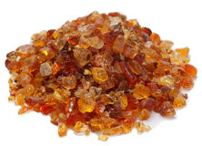 Free Pile Of Gum Arabic Over White Royalty Free Stock Photo - 8375125