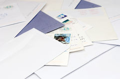 Pile Of Mail Stock Image