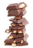 Pile Of Milk Chocolate Royalty Free Stock Photo