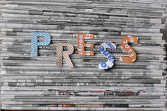 Free Pile Of Newspapers. Royalty Free Stock Photo - 30298495