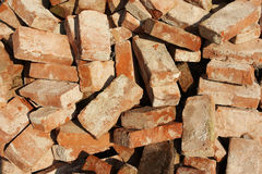 Free Pile Of Old Bricks Stock Photography - 18200412