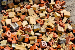 Pile Of Old Bricks Royalty Free Stock Images