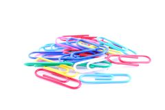 Pile Of Paper Clip Royalty Free Stock Image