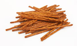 Pile Of Pretzel Sticks Royalty Free Stock Photography