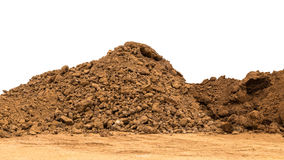 Pile Of Soil On The Ground. Stock Image