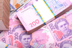 Free Pile Of Ukrainian Money Grivna Stock Image - 55339821