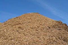 Pile Of Wood Chips Mulch Background Royalty Free Stock Photo