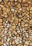 Pile Of Wood Logs Ready For Winter Royalty Free Stock Photos