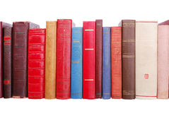 Pile of old books royalty free stock images