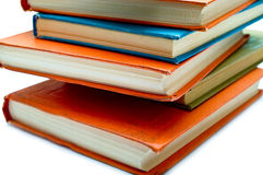 Pile of old books Royalty Free Stock Image