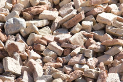 A pile of old bricks Royalty Free Stock Images