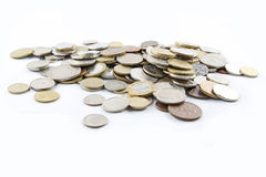 A pile of old coins Royalty Free Stock Photography