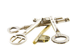 Pile of old keys Royalty Free Stock Photography
