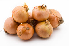 A pile of onions Stock Photo