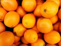 Pile of oranges. Full frame of oranges at market stock photo