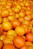Pile of oranges at Market Royalty Free Stock Photos