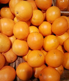 Pile of oranges. At a supermarket Royalty Free Stock Images