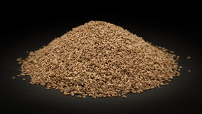 Pile of Organic Ajwain (Trachyspermum ammi). On dark background Royalty Free Stock Images