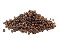 Pile of Organic Black pepper. Royalty Free Stock Image