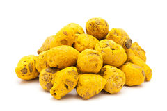 Pile of Organic Round Turmeric. Stock Photography
