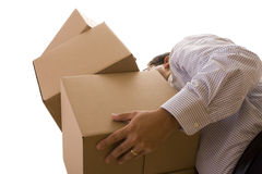 Pile of package Royalty Free Stock Image