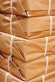 Pile of packets Royalty Free Stock Photo