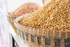 Pile paddy Stock Photography
