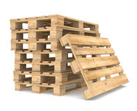 Pile of Pallets Royalty Free Stock Image