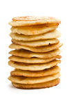 Pile of pancakes Royalty Free Stock Images