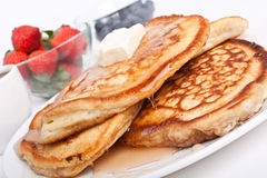 Pile of Pancakes Royalty Free Stock Photography