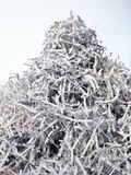 Pile of paper royalty free stock photo