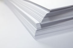 Pile of paper Stock Images