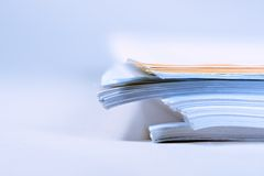 A pile of paper Royalty Free Stock Images