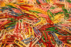 Pile of paper Clips Royalty Free Stock Photography