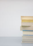 Pile of paperback books Royalty Free Stock Photography