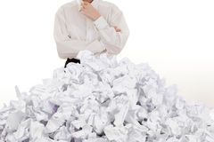 Pile of Papers Royalty Free Stock Photo