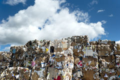 Paper recycling Royalty Free Stock Photography