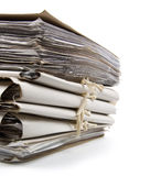 Pile of paperwork Stock Images