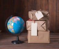 Pile parcel Stock Image