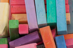 Pile of Pastels Stock Image