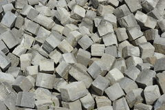 Pile of Paving Stones. Pile of gray paving stones. Can be used as background Stock Photography