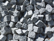 Pile of Paving Stones Royalty Free Stock Image